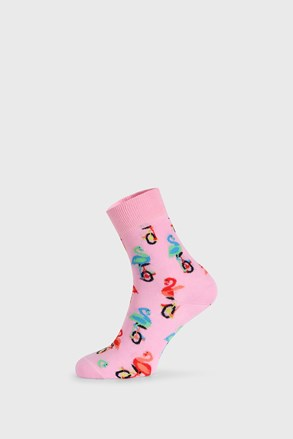 Happy Socks Flamingo Half Crew zokni