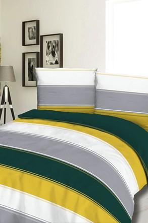 Stripe flanel ágyneműhuzat