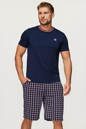 Tmavomodré pyžamo FILA French Terry