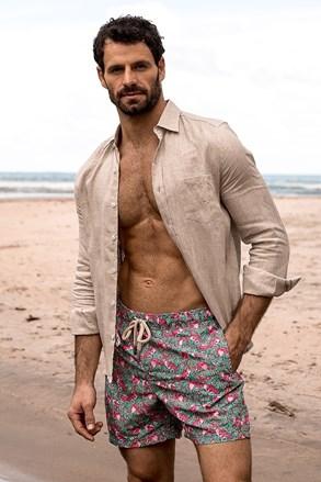 Pánske kúpacie šortky SHORTS Co. Flamingo REG