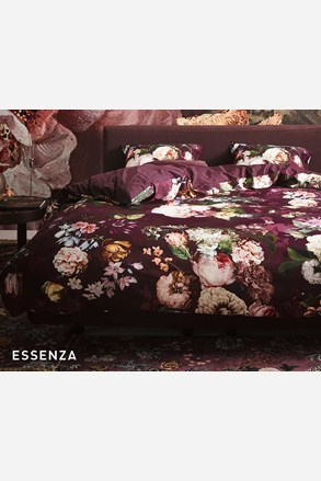 Obliečky Essenza Fleur Burgundy