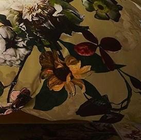 Obliečky Essenza Home Fleur Gold Yellow