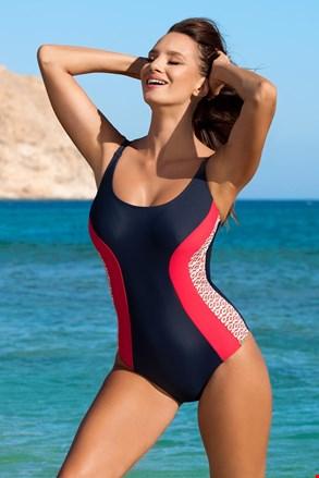 Dámske jednodielne plavky Florence red