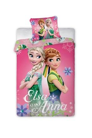 Gyermek ágyneműhuzat Frozen Sisters