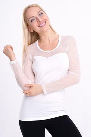 Spalla női póló, hosszú ujjakkal