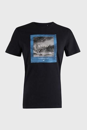 Sötétkék férfi póló Sea