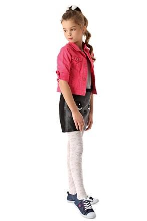 Dievčenské pančuchové nohavice Hearts