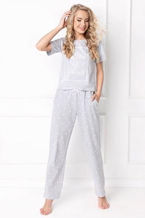 Dámske pyžamo Hearty dlhé