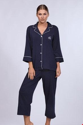 Dámske pyžamo Ralph Lauren Navy Dot