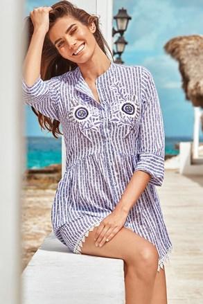 Plážové košeľové šaty Sandra