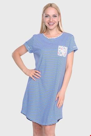 Ralph Lauren Blue Stripe női hálóing