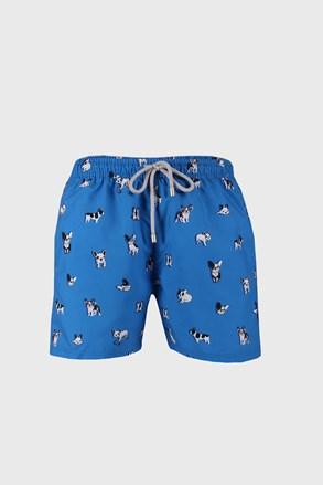 Modré plavkové šortky Bulldog