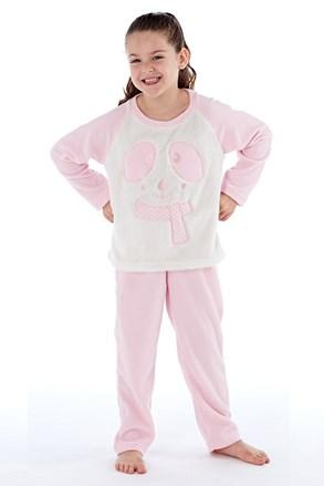 Dievčenské hrejivé pyžamo Winter