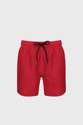 Červené kúpacie šortky Reebok Yale