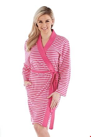 Dámsky bavlnený župan Kimono ružový