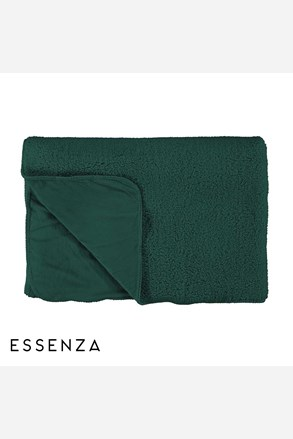 Prikrývka na posteľ Essenza Lammy zelená