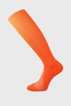 Kompresné podkolienky Lithe oranžové neón