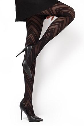 Vzorované pančuchové nohavice Lola1 60 DEN