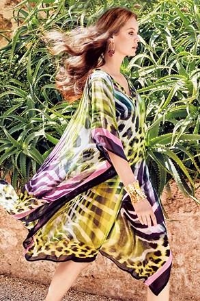 Plážové šaty Aura Print