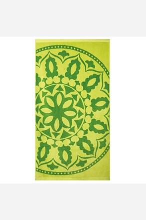 Plážová osuška Mandala zelená