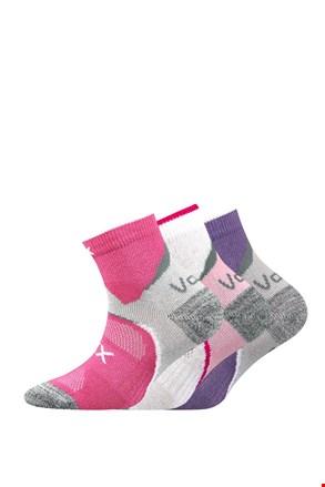 3 pack dievčenských ponožiek Maxterik