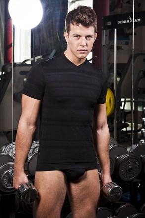 Pánske tričko HASTER Slimfit Sport bezšvové