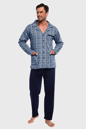 Kockované pyžamo Ales III