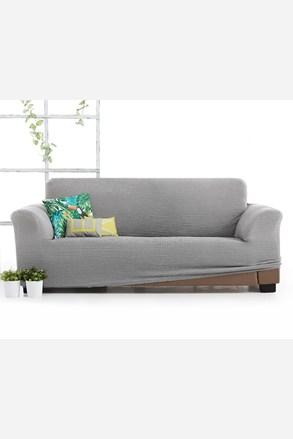 Milos háromszemélyes kanapéhuzat, világosszürke