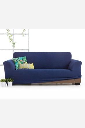 Milos háromszemélyes kanapéhuzat, kék