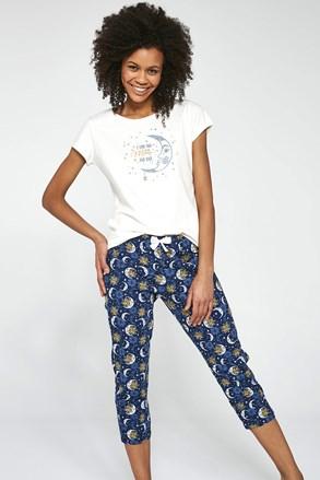 Dámsky trojdielny pyžamový komplet To the Moon