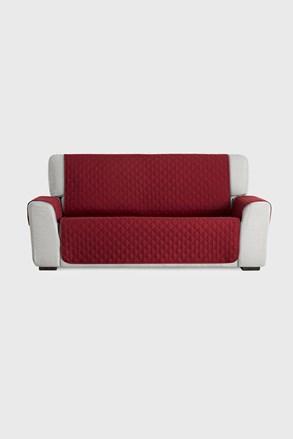 Moorea bútorhuzat háromszemélyes kanapéra, piros