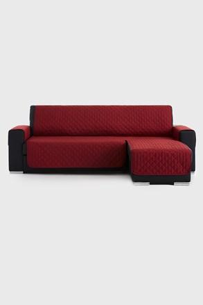 Moorea bútorhuzat sarokkanapéra, piros - jobb oldali