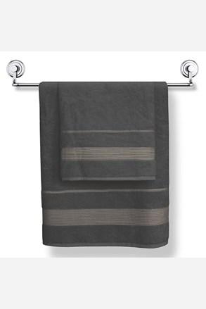 Bambusový uterák Moreno grafitový