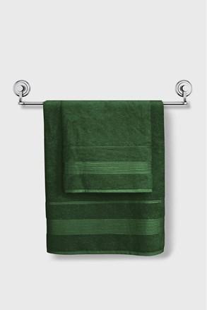 Bambusový uterák Moreno tmavozelený