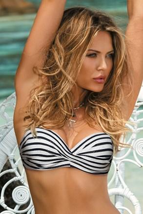 Grace striped bikinifelső