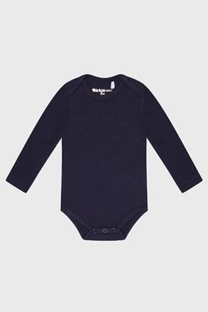 Chlapecké bodýčko s dlouhým rukávem Baby modré