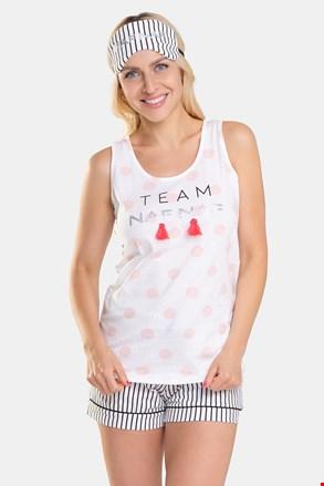 NAF NAF Blush női pizsama, alvómaszk