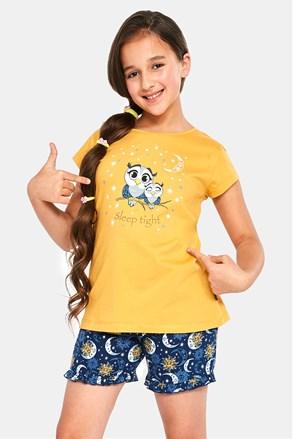 Dievčenské pyžamo Owls