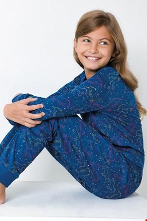 Lányka pizsama Egyszarvú, kék