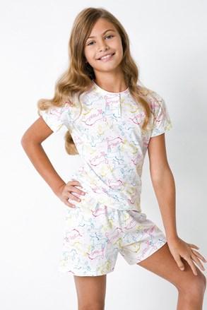 Lányka pizsama Egyszarvú II