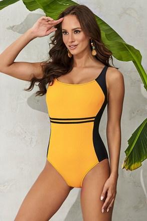 Dámske jednodielne plavky Clara Yellow
