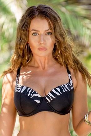 Zebra női bikinifelső