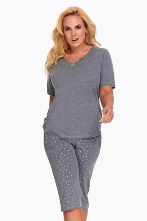 Dámske pyžamo Diana sivé