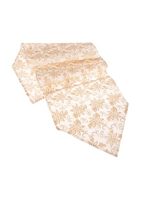 Obrus bielo-zlatý