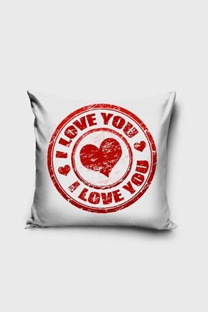 Obliečka na vankúšik Love you