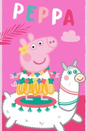 Peppa Pig gyermek fürdőlepedő