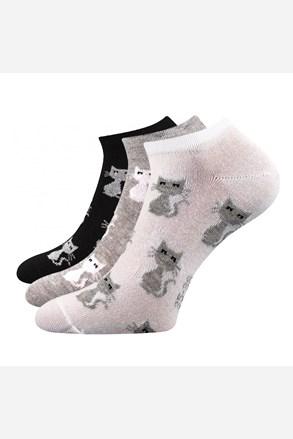 3 pack dámskych ponožiek Piki 55