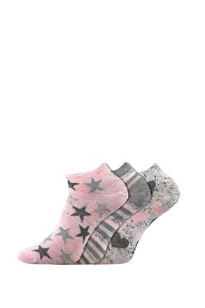 3 pack dámskych ponožiek Piki 46 nízke