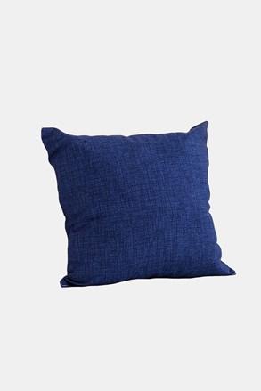 Dekoračný vankúš s výplňou modrý