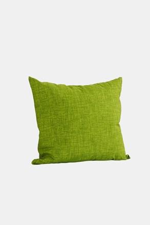 Dekoračný vankúšik s výplňou zelený